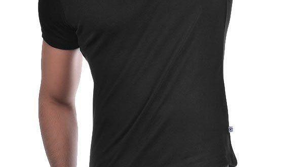 فروش تیشرت مشکی مردانه جهت چاپ تبلیغاتی