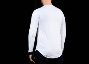 فروش عمده تی شرت پایین هلالی مردانه