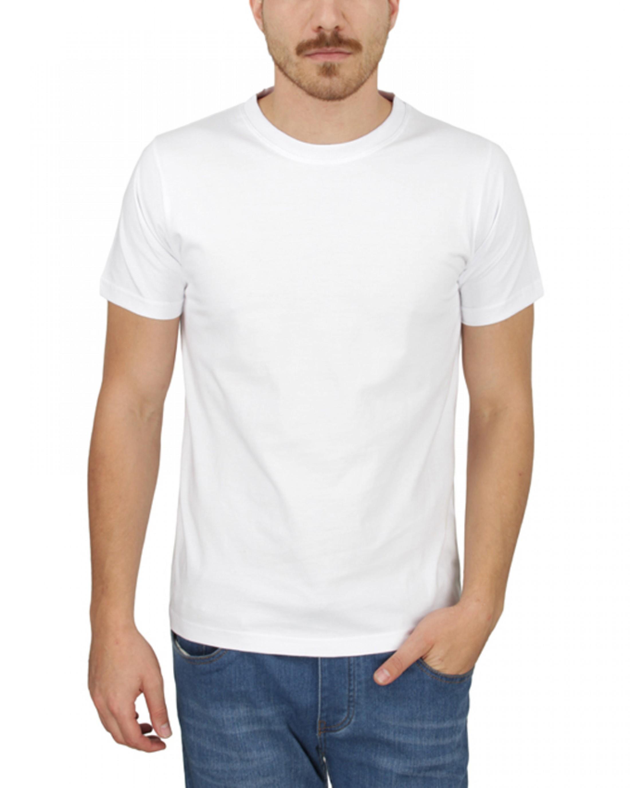 تیشرت سفید اسپان جهت چاپ و تبلیغات با قیمت عمده