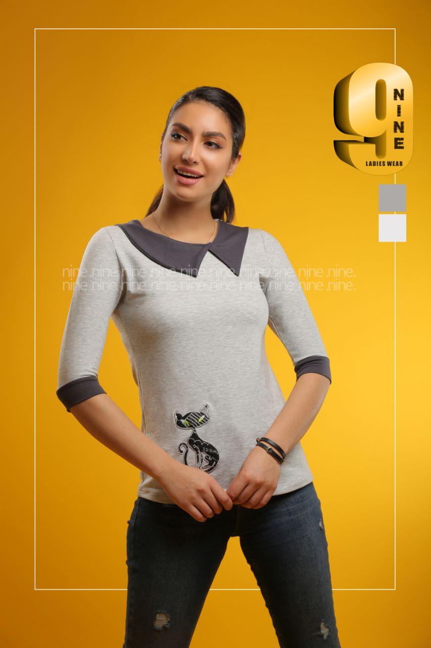 تیشرت عمده زنانه با قابلیت خرید آسان از طریق اینترنت