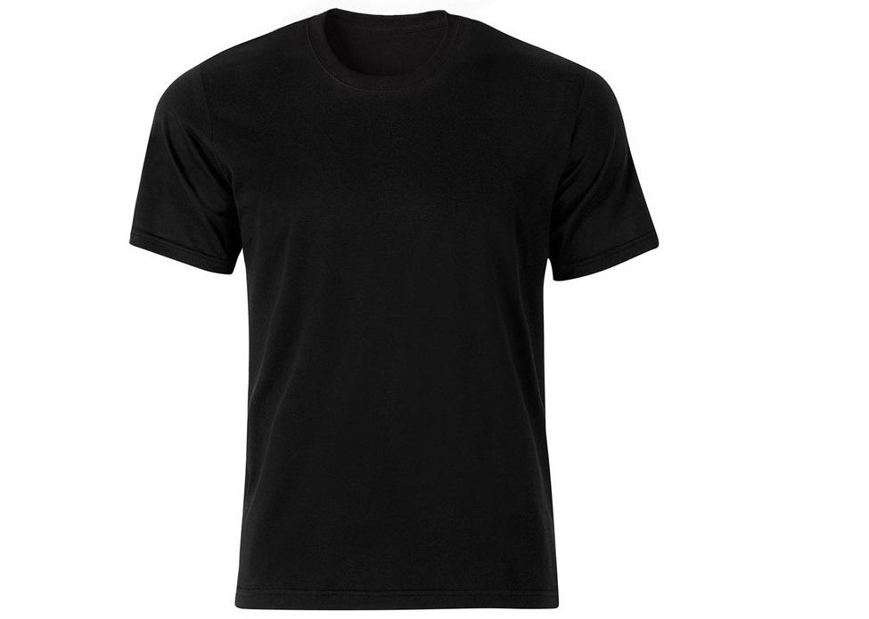 خرید تیشرت مشکی ساده مردانه یقه گرد ۹۸