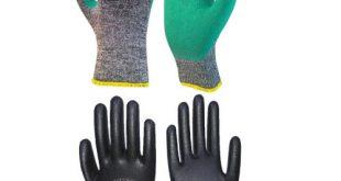 قیمت پخش عمده انواع دستکش ایمنی کارگری و مهندسی نفیس